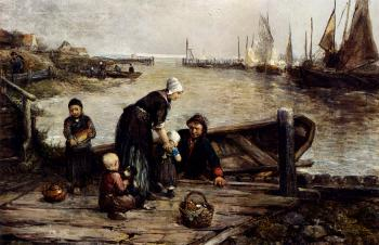 Johan Mari Ten Kate : A Fishermans Family Marken